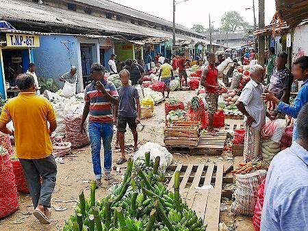 スリランカ コロンボ Manning Market マニングマーケット ペター市場