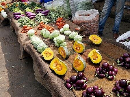 スリランカ コロンボ Manning Market マニングマーケット ペター市場 野菜