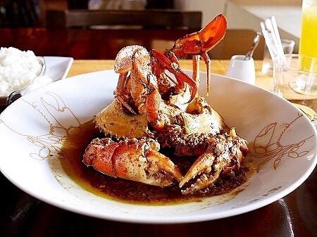 スリランカ コロンボ ミニストリーオブクラブ Ministry of Crab カニ 蟹 ガーリックチリ