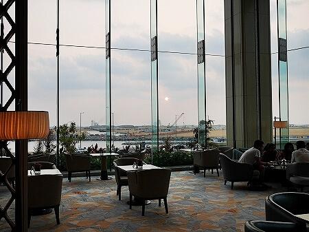 スリランカ コロンボ アフタヌーンティー ハイティー シャングリラホテル Shangri-La サファイヤラウンジ