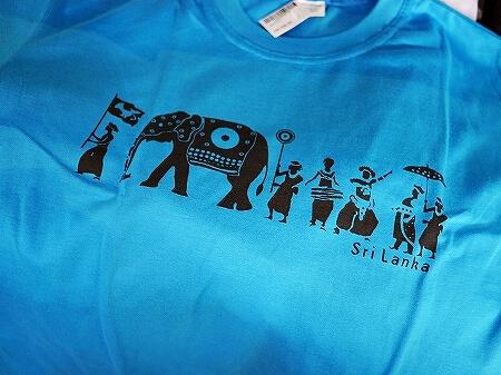スリランカ コロンボ ラクサラ お土産屋 LAKSALA Tシャツ