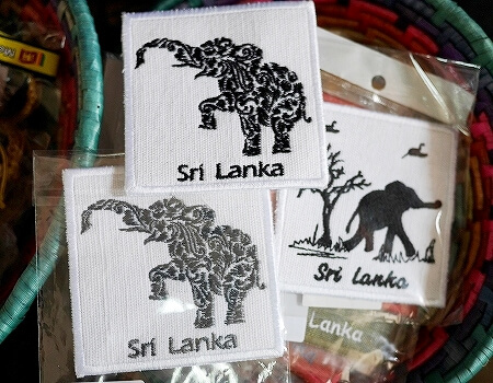 スリランカ コロンボ ラクサラ お土産屋 LAKSALA ゾウ コースター