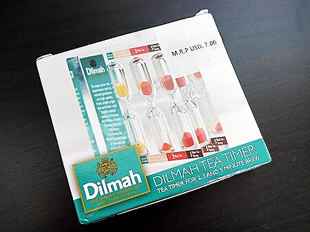 スリランカ コロンボ ザ ティーラウンジ バイ ディルマ The t-Lounge by Dilmah ティータイマー 砂時計