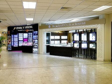 スリランカ コロンボ空港 お土産屋さん 宝石屋