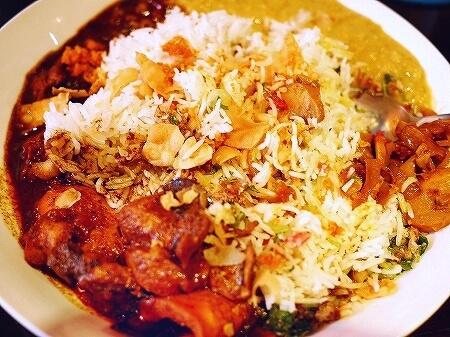 おすすめ スリランカ料理 レストラン スパイシービストロ タップロボーン spicy bistro Taprobane アーユルヴェーダ・ワンプレート ランチ