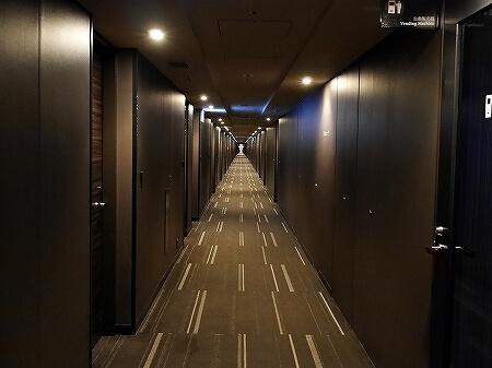 羽田空港 国際線ターミナル ザ ロイヤルパークホテル 東京羽田 廊下
