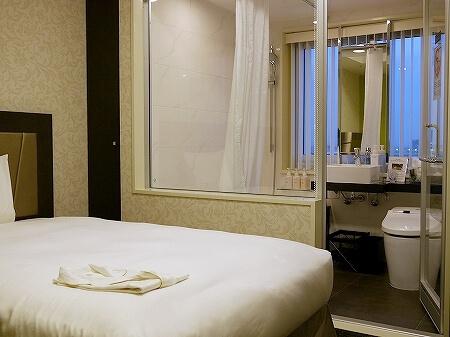 羽田空港国際線ターミナル ザ ロイヤルパークホテル 東京羽田 コンフォートシングルルーム スタンダードフロア 室内