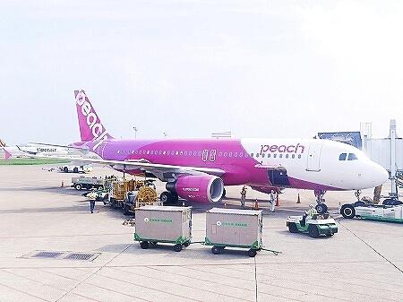 ピーチ 弾丸スペシャル 日帰り 台湾 台北 飛行機 LCC
