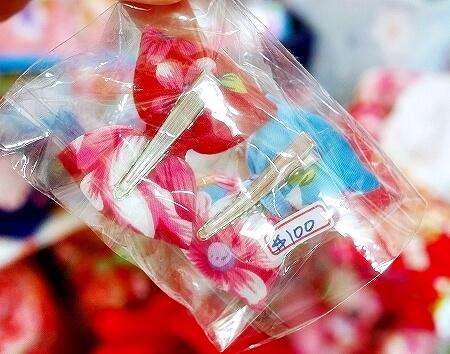 台湾 台北 星通有限公司 星通傢飾布 窗簾・傢飾布 迪化街 ディーホアジエ てきかがい 花布 ヘアピン 花柄