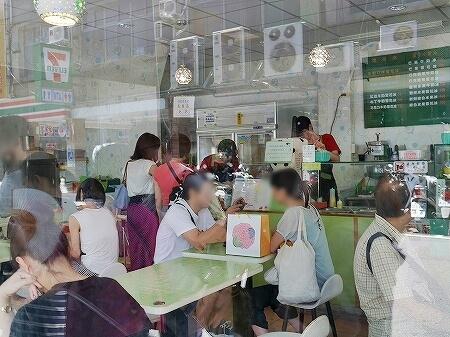 台湾 台北 冰讃 ピンザン マンゴーかき氷 人気店 有名店 店内