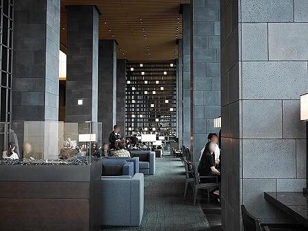 アマン東京 ホテル ラウンジ