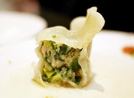 台湾 台北 巧之味手工水餃 水餃子 Takumi Dumplings 韮菜水餃 ニラ