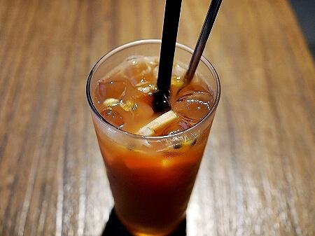 台湾 台北 The One  フルーツティー カフェ