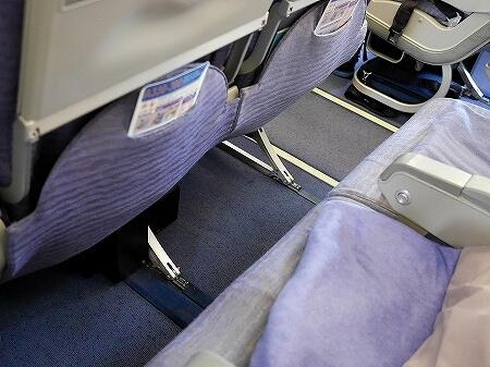チャイナエアライン搭乗記 台湾 CI107 CI106 機内 席 シート