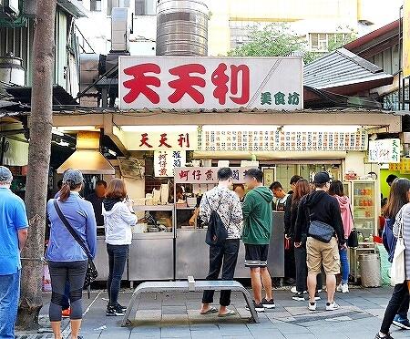 台湾 台北 天天利美食坊 西門 外観