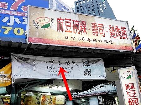 台北 一甲子餐飲 豚角煮丼 焢肉飯 コンローファン 看板