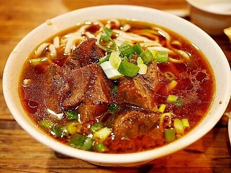 台湾 台北 龍門客桟餃子館 牛肉麺