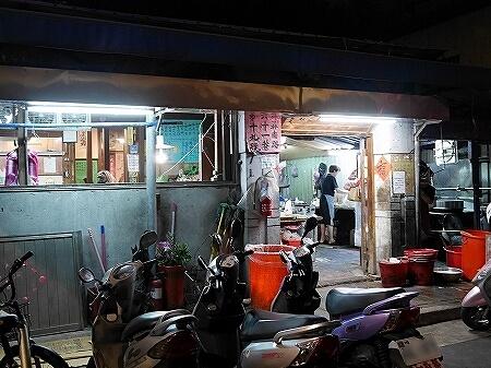 台北台湾 台北 龍門客桟餃子館 水餃子 外観