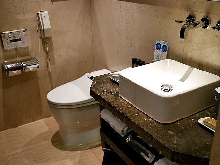 タンゴホテル南西館 天閣酒店-台北南西 The TANGO HOTEL Taipei NanShi タイペイ ナンシー 部屋 バスルーム トイレ プレミアムキングルーム