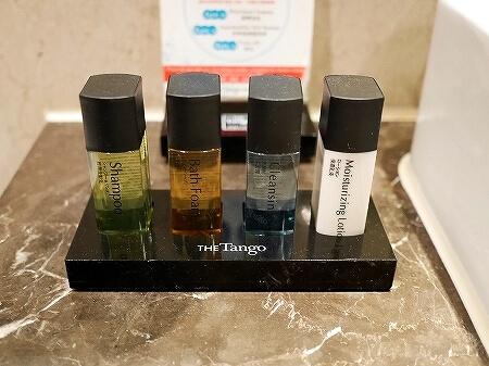 タンゴホテル南西館 天閣酒店-台北南西 The TANGO HOTEL Taipei NanShi タイペイ ナンシー 部屋 アメニティ シャンプー