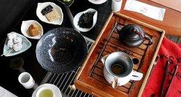 台湾、九份「阿妹茶樓」のテラス席での~んびりお茶タイム♡2番目にいい席で絶景も堪能♪(あめちゃろう)