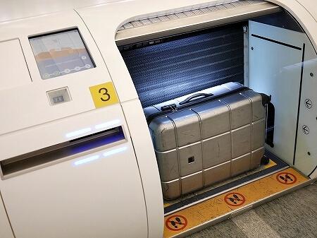 台北駅 インタウンチェックインの方法 市内チェックイン 自動チェックイン機 荷物預け スーツケース