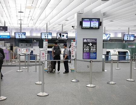 台北駅 インタウンチェックインの方法 市内チェックイン 自動チェックイン機