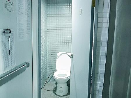 インキューブ台北駅店 インキューブタイペイメインステーション 品格子旅店北車館 トイレ シャワールーム
