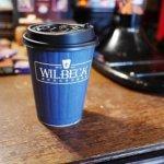 台湾 台北 Wilbeck Cafe 人気 カフェ 威爾貝克咖啡信陽店 ブラウンシュガーラテ 黒糖ラテ