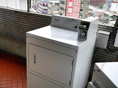インキューブ台北駅店 インキューブタイペイメインステーション 品格子旅店北車館 コインランドリー 洗濯機