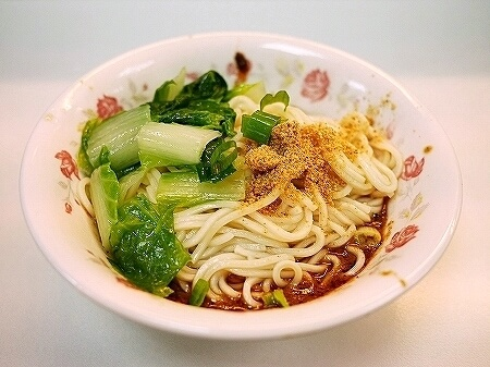 台湾 台北 龍門美景川味 担々乾麺 汁なし担々麺