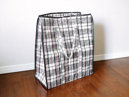 海外旅行 お土産バッグ ショッピングバッグ 折りたたみ 100均