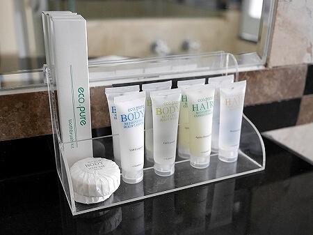 ロイヤルオーキッドグアムホテル Royal Orchid Guam Hotel 宿泊記 部屋 室内 アメニティ シャンプー 歯ブラシ