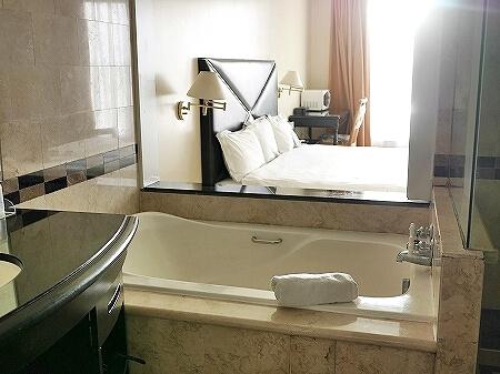 ロイヤルオーキッドグアムホテル Royal Orchid Guam Hotel 宿泊記 部屋 室内 バスルーム