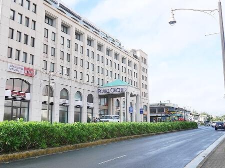 ロイヤルオーキッドグアムホテル 立地 Royal Orchid Guam Hotel