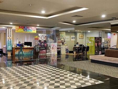 ロイヤルオーキッドグアムホテル Royal Orchid Guam Hotel 宿泊記 HISカウンター HISデスク