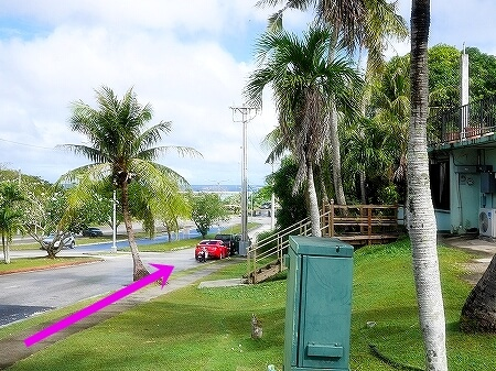 グアム ロイヤルオーキッドグアムホテルからビーチへの行き方 海への行き方 イパオビーチ Ypao Beach プロア PROA