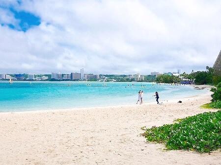 グアム ロイヤルオーキッドグアムホテルからビーチへの行き方 海への行き方 イパオビーチ Ypao Beach