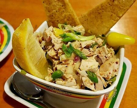 グアム ジャマイカングリル Jamaican Grill セットメニュー ジャークチキン&リブ コンボ チキンケラグエン