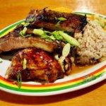 グアム ジャマイカングリル Jamaican Grill セットメニュー ジャークチキン&リブ コンボ
