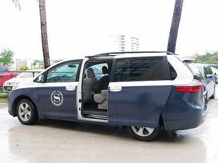 グアム アンサナスパ シェラトン ラグーナ グアム リゾートホテル ANGSANA SPA 送迎車