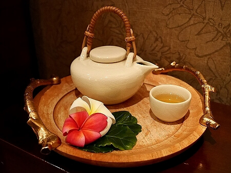 グアム アンサナスパ シェラトン ラグーナ グアム リゾートホテル ANGSANA SPA お茶