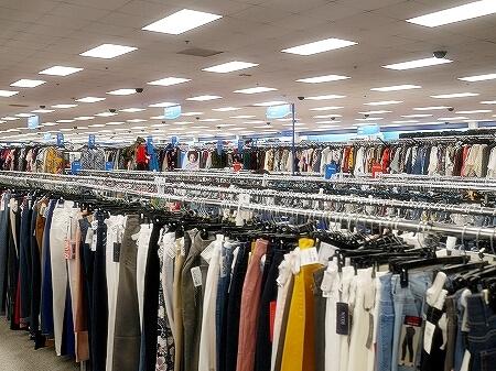 グアム ロス・ドレス・フォー・レス Ross Dress for Less ロスドレスフォーレス マイクロネシアモール グアムプレミアアウトレット 店内
