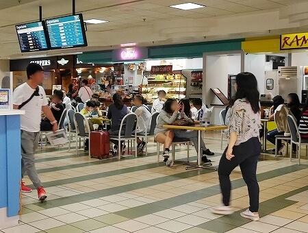 グアム国際空港 出国後 免税店 フードコート 飲食店 レストラン