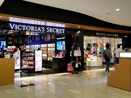 グアム国際空港 出国後 免税店 ヴィクトリアシークレット マークジェイコブス ヴィクトリアズシークレット