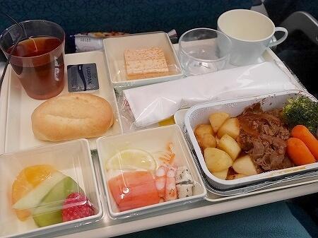 ベトナム航空搭乗記 成田-ホーチミン VN301 VN302 機内食 昼食