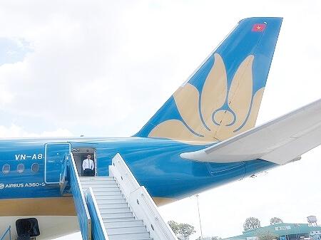 ベトナム航空搭乗記 成田-ホーチミン
