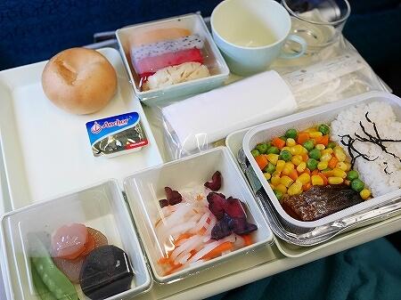 ベトナム航空搭乗記 成田-ホーチミン VN301 VN302 機内食 朝食