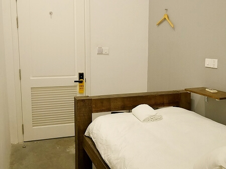 ベトナム ホーチミン ザ ドーム サイゴン The Dorm Saigon 個室 部屋 室内 ベッド