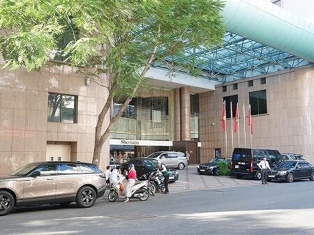 ベトナム ホーチミン シェラトンホテル 入り口 外観